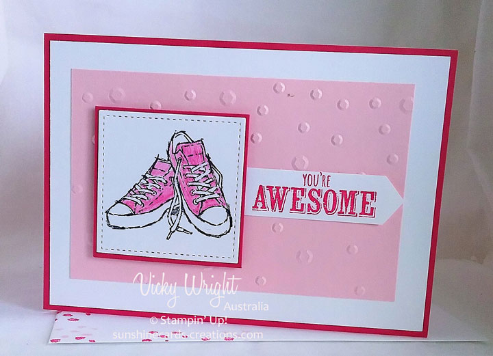 2018 SAB, 2018 Occasions, Epic Celebrations, Watercolouring Pencils, Stampin' Up!