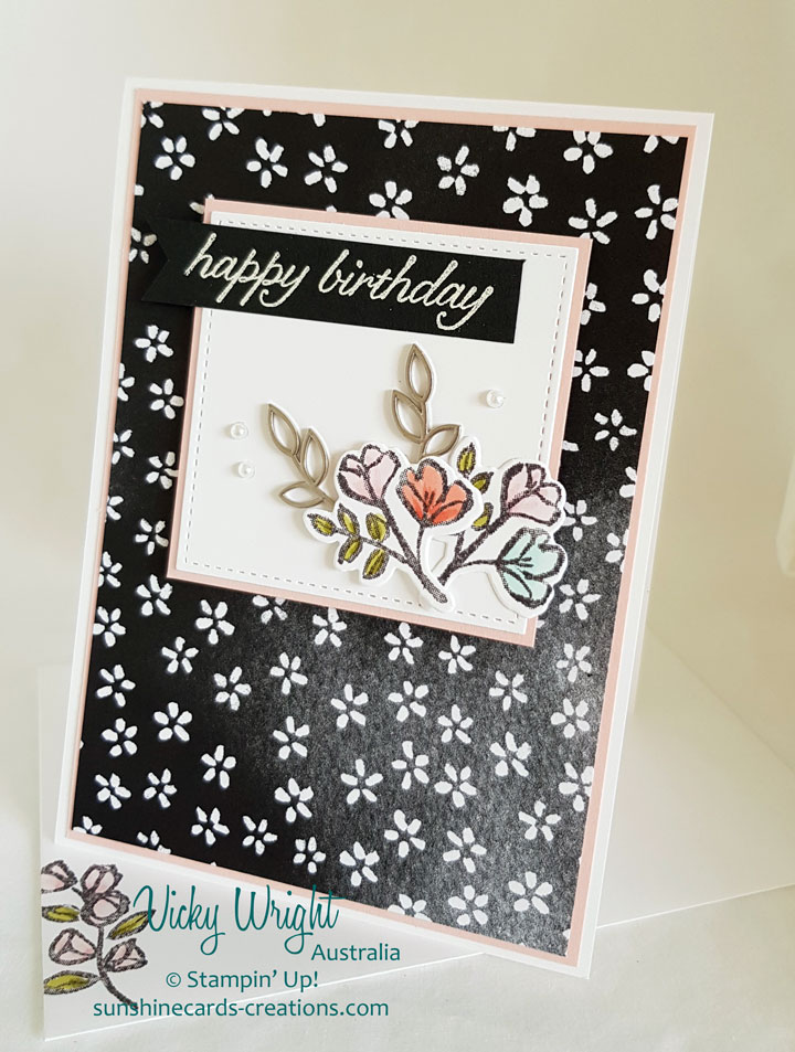2018 Occasions, Petal Passion Suite, Petal Palette, Free Tutorial, Vicky Wright, Stampin' Up!