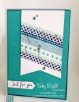 Watercolor Wings, Washi Tape, Free Tutorial, Stampin' Up!, #stampinup #washitape #watercolorwings