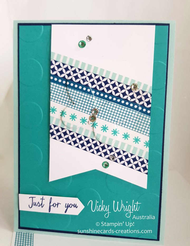 Watercolor Wings, Washi Tape, Free Tutorial, Stampin' Up!, #stampinup #washitape #watercolorwings