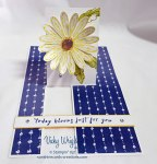 Daisy Delight, Delight Daisy DSP, Impossible Card, Free Tutorial, Stampin' Up!, #daisydelight #delightfuldaisydsp #Daisydelightbundle #vickywright #freetutorial #stampinup