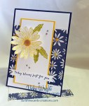 Daisy Delight, Delightful Daisy DSP, Perennial Birthday, Free Tutorial, Stampin' Up!, #daisydelight #delightfuldaisydsp #loveitchopit #vickywright #stampinup