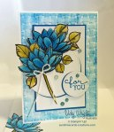 Remarkable You, Blender Pen, BIrthday Blooms, Vicky Wright, Free Tutorial, Stampin' Up!, #remarkableyou #colouring #blenderpens #stampinup #vickywright