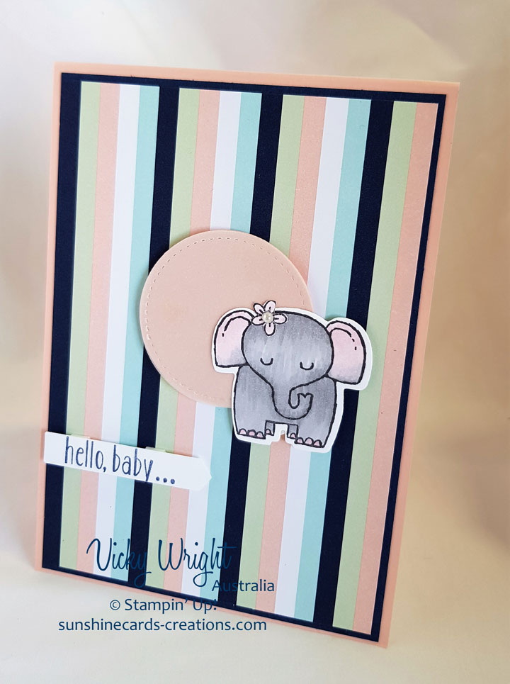 A Little Wild, Baby Bear, Twinkle Teinklw DSP, Free Tutorial, Stampin' Up! #alittlewild #babybear #twinkletwinkledsp #Stampinup #loveitchopit