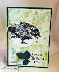 Rooted in Nature Bundle, Rooted in Nture, Nature'sroots Framelits, Shaving Cream Technique, Free Tutorial, Stampin' Up! #rootedinnature #naturesroootsframelits #rootedinnaaturebundle #shavingcreamtechnique #freetutorial #stampinup