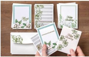 Magnolia Blooms Cards