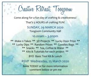 Creative Retreat Flyer