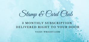 Stamp & Card Club - 3 monthly