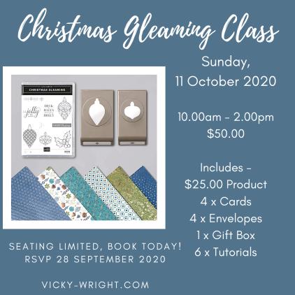 Christmas Gleaming Class